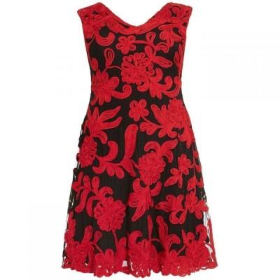 スタジオ8 Studio 8 レディース ワンピース ワンピース・ドレス Ottoline Tapework Dress Black & Red