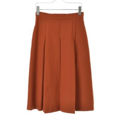 ANAYI / アナイ 19AW ストレッチツイルBOXタックロング スカート