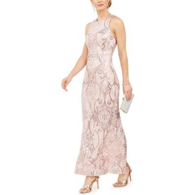 ヴィンス カムート Vince Camuto レディース パーティードレス ワンピース・ドレス Allover-Sequin Gown Blush Pink