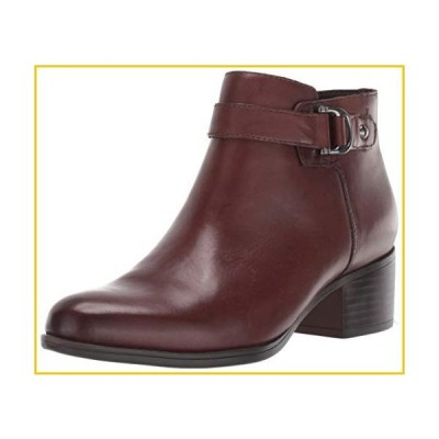 Naturalizer womens Drewe Ankle Boot, Chocolate Leather, 10 medium