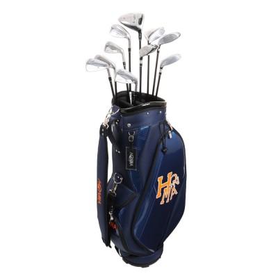 本間ゴルフT//WORLD XP-1 フルセット 10本(1W、3W、5W、U19、U25、I6~I10)VIZARD 43ネイビー