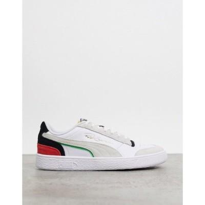 プーマ メンズ スニーカー シューズ Puma Ralph Sampson sneakers in white and gray Puma white-puma blac