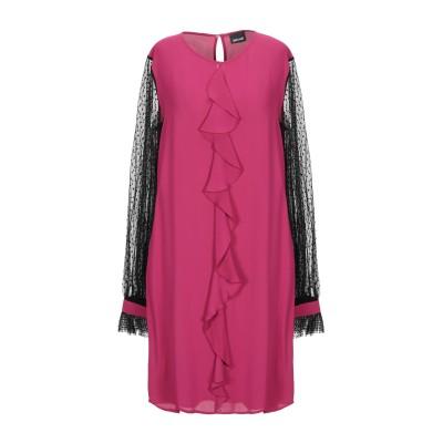ジャストカヴァリ JUST CAVALLI ミニワンピース&ドレス フューシャ 40 レーヨン 100% / ポリエステル ミニワンピース&ドレス