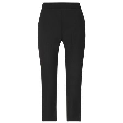 MARELLA パンツ ブラック 42 ポリエステル 67% / レーヨン 29% / ポリウレタン 4% パンツ