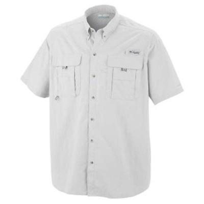 コロンビア メンズ シャツ トップス Columbia Men's Bahama II SS Shirt White