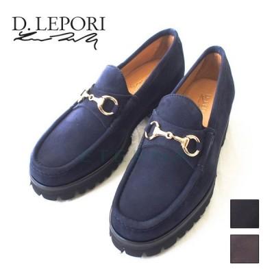 D.LEPORI ダニエルレポリ メンズ カジュアル ローファー 紳士靴 スーツ フォーマル イタリア製 italy スエード ネイビー 黒 茶色 92