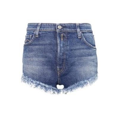リプレイ レディース デニムパンツ ボトムス Denim shorts - medium blue medium blue