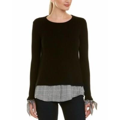 ファッション トップス Bailey44 Double Date Sweater Top M Black