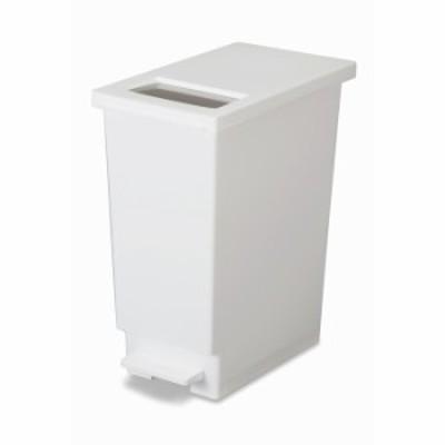 トンボ ゴミ箱 ペダル ユニード プッシュ & ペダル 45S ごみ箱 ふた付き ホワイト