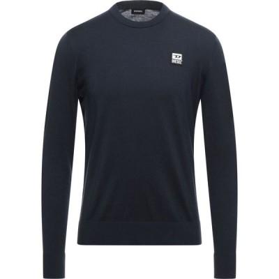 ディーゼル DIESEL メンズ ニット・セーター トップス Sweater Dark blue