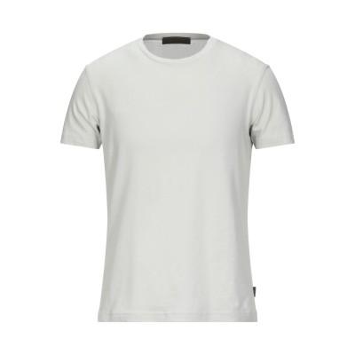 ALPHA MASSIMO REBECCHI T シャツ ライトグレー 50 コットン 92% / ポリウレタン® 8% T シャツ