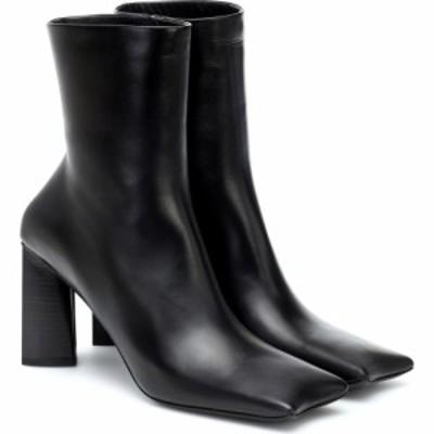 バレンシアガ Balenciaga レディース ブーツ ショートブーツ シューズ・靴 moon leather ankle boots Black