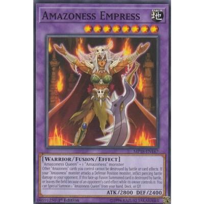 遊戯王 MP18-EN167 アマゾネス女帝 Amazoness Empress (英語版 1st Edition ノーマル) 2018 MEGA-Tins