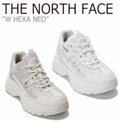 ノースフェイス スニーカー THE NORTH FACE レディース W HEXA NEO W ヘキサ ネオ CREAM クリーム BEIGE ベージュ NS93L81A/B シューズ