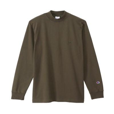 チャンピオン Champion モックネック ロングスリーブTシャツ ベーシック メンズ MOCKNECK LONG SLEEVE T-SHIRT C3-S402-655