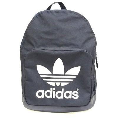 【中古】アディダス adidas デイパック リュックサック プリント ネイビー 鞄 200702E メンズ レディース 【ベクトル 古着】