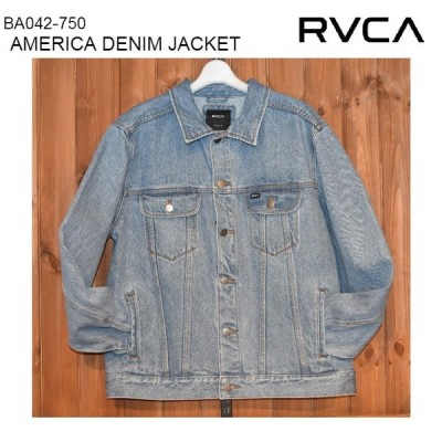 RVCA ルーカ メンズ デニムジャケット BA042-750 AMERICA DENIM JACKET