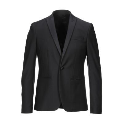パトリツィア ペペ PATRIZIA PEPE テーラードジャケット ブラック 48 ポリエステル 53% / バージンウール 43% / ポリウレ