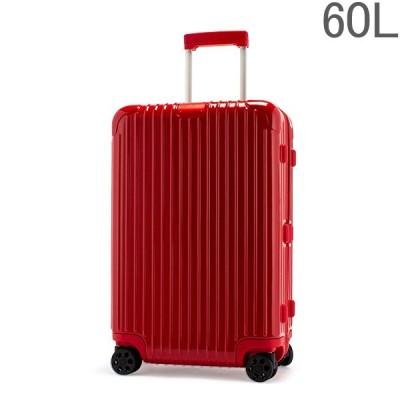 リモワ スーツケース RIMOWA エッセンシャル 83263654 チェックイン M 60L 4輪 RIMOWA グロスレッド