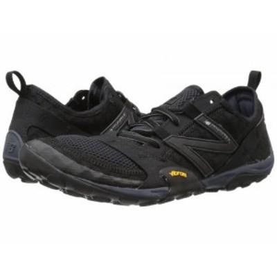 New Balance ニューバランス メンズ 男性用 シューズ 靴 スニーカー 運動靴 Minimus 10v1 Black/Silver【送料無料】