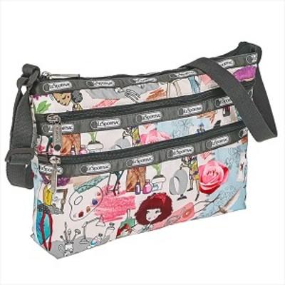 レスポートサック バッグ ショルダーバッグ LESPORTSAC  QUINN BAG  3352 D627 ART SCHOOL   比較対照価格8,800 円