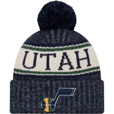 ニューエラ メンズ 帽子 アクセサリー New Era Men's Utah Jazz Sports Knit Hat