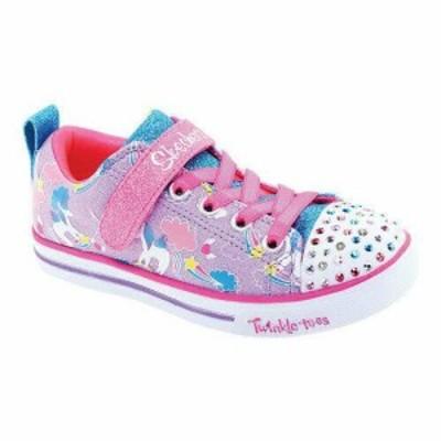 SKECHERS スケッチャーズ アクセサリー  Skechers Girls  Twinkle Toes Sparkle Lite Sparkle Friends Sneaker