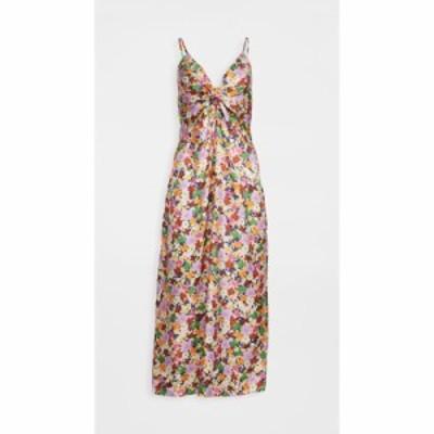 ノア ド ボルゴ Borgo de Nor レディース ワンピース ワンピース・ドレス Flora Knot Dress Flower Works Pink