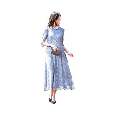 [アールズガウン]ロングドレス 母親 ロング 結婚式 発表会 フォーマル レース 羽織り 大きいサイズ アフタ?