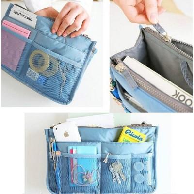人気 レディースバッグインバッグ 化粧ポーチ 整理 収納  トートバッグ  使いやすい
