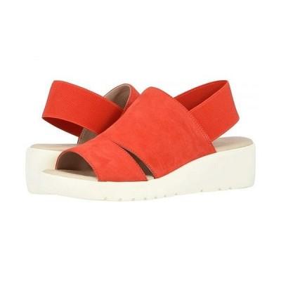 Johnston & Murphy ジョーンストンアンドマーフィー レディース 女性用 シューズ 靴 ヒール Cassandra - Red Italian Suede