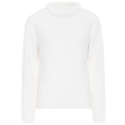 ヴィンス Vince レディース ニット・セーター トップス high-neck wool-blend sweater Off White
