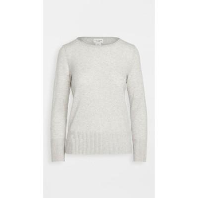 クラブ モナコ Club Monaco レディース ニット・セーター トップス Essential Open Cashmere Sweater Light Heather Grey