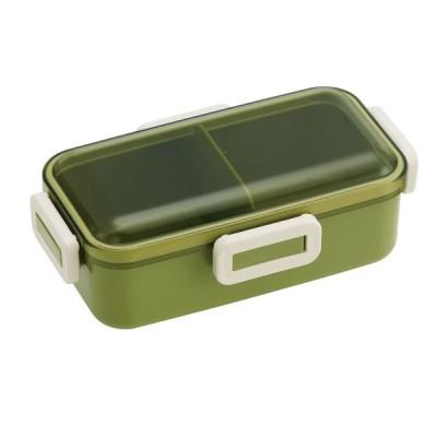 ふわっと 弁当箱 レトロフレンチカラー 530ml グリーン PFLB6