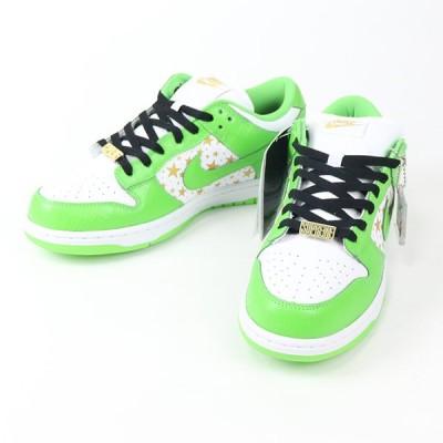 国内正規品 2021SS Supreme × Nike SB Dunk Low Lime Stars 【DH3228-101】 新品未使用品