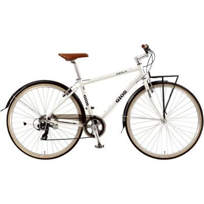 ジオス イソラ (ホワイト) 2021 GIOS ESOLA シティサイクル クロスバイク