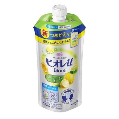 花王 ビオレU  フレッシュシトラスの香り つめかえ用 340ml 石鹸・ボディソープ