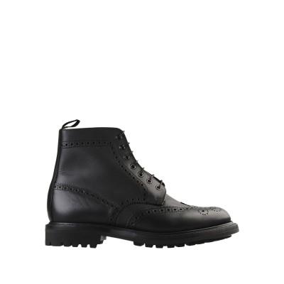 SANDERS ショートブーツ ブラック 9.5 革 ショートブーツ