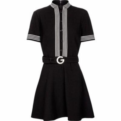 グッチ Gucci レディース ワンピース ワンピース・ドレス Wool crepe minidress Black/Mix