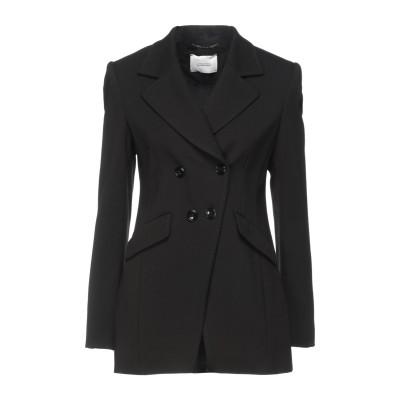 ドロシーシューマッハ DOROTHEE SCHUMACHER テーラードジャケット ブラック 2 レーヨン 67% / ナイロン 28% / ポリウ