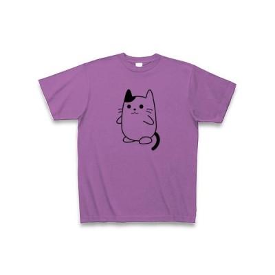 まめねこ Tシャツ(ラベンダー)