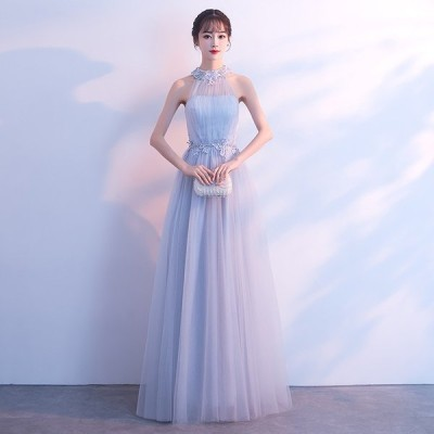 パーティードレス 可愛い 安い ドレス ワンピース【ロング丈】