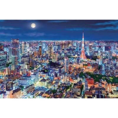 エポック社 心にのこる輝きの風景 煌めく東京の夜(東京) 1000ピース 光るパズルジグソーパズル 返品種別B