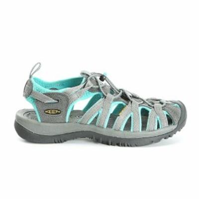 キーン Keen レディース サンダル・ミュール シューズ・靴 whisper shoe Dark Shadow/Ceramic