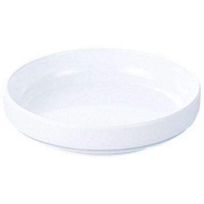 漬物皿(フチきったて型) (白) エンテック NO.71W