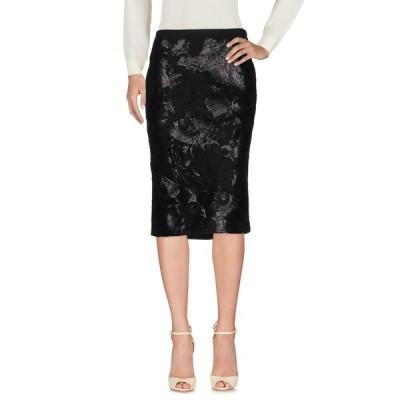 CAVALLI CLASS 七分丈スカート  レディースファッション  ボトムス  スカート  ロング、マキシ丈スカート ブラック