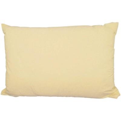 枕 ホテル仕様 綿混 ふんわり Mサイズ 43cm × 63cm (ベージュ)