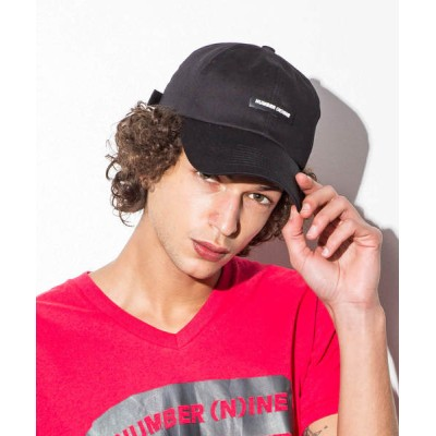 SHIFFON / ラバーワッペン付ベースボールキャップ MEN 帽子 > キャップ