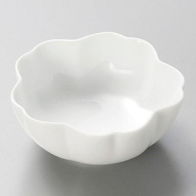 (業務用・花・葉形)桜雲 白小鉢[16030-028](入数:1)