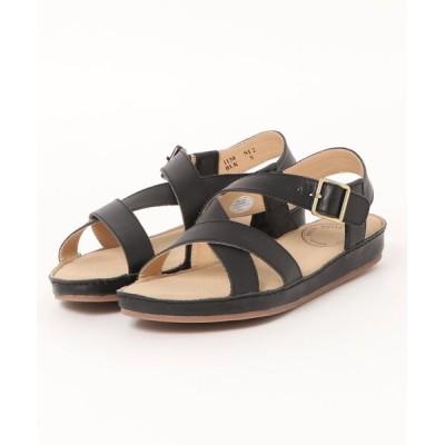 Xti Shoes / 【HC】 甲クロスベルト デザイン レザーサンダル WOMEN シューズ > サンダル